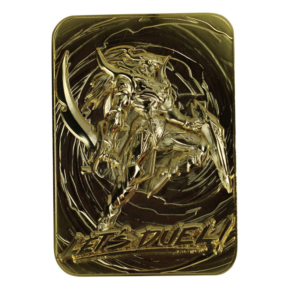 Photo du produit YU-GI-OH! RÉPLIQUE CARD BLACK LUSTER SOLDIER (PLAQUÉ OR)