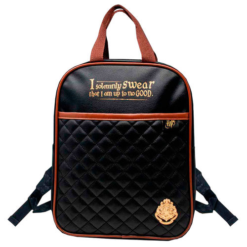 Photo du produit SAC À DOS I SOLEMNLY SWEAR IM UP TO NO GOOD HARRY POTTER 35CM
