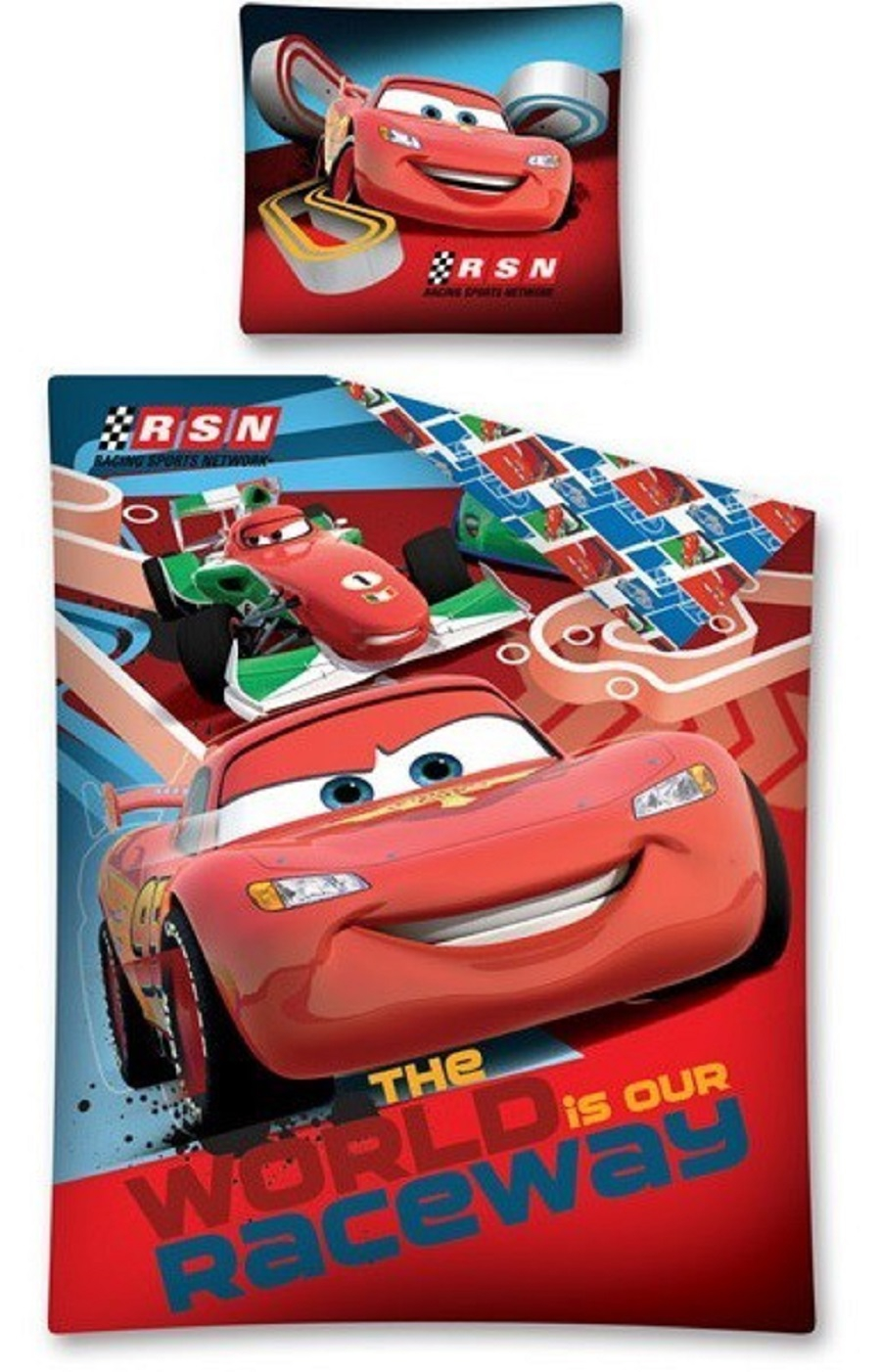 Photo du produit Parure de lit Disney Cars 160 x 200 cm
