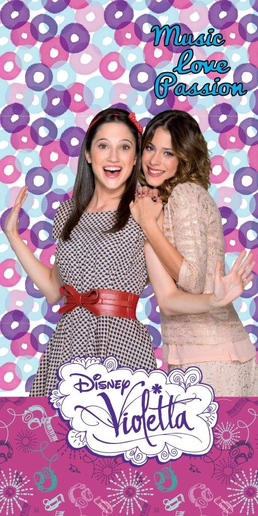Photo du produit DISNEY VIOLETTA SERVIETTE DE BAIN
