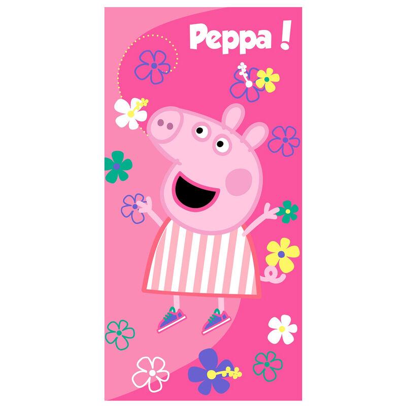 Photo du produit SERVIETTE DE BAIN PEPPA PIG PEPPA MICROFIBRE