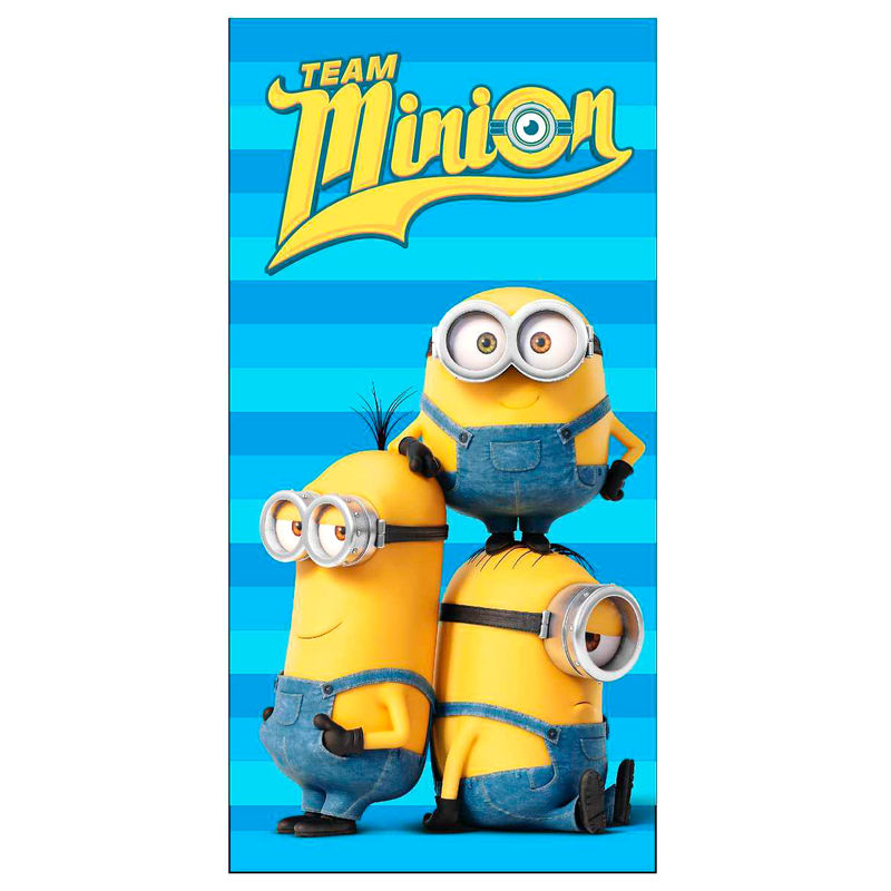Photo du produit SERVIETTE DE BAIN MINIONS TEAM MINION EN MICROFIBRE