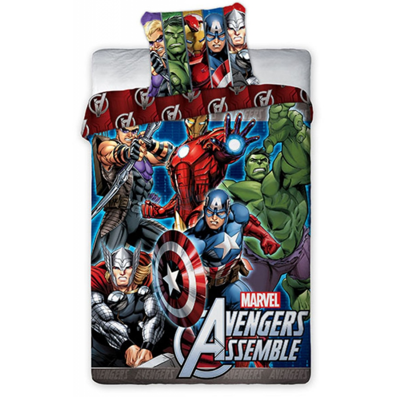 Photo du produit HOUSSE DE COUETTE THE AVENGERS 160 x 200 CM - MARVEL