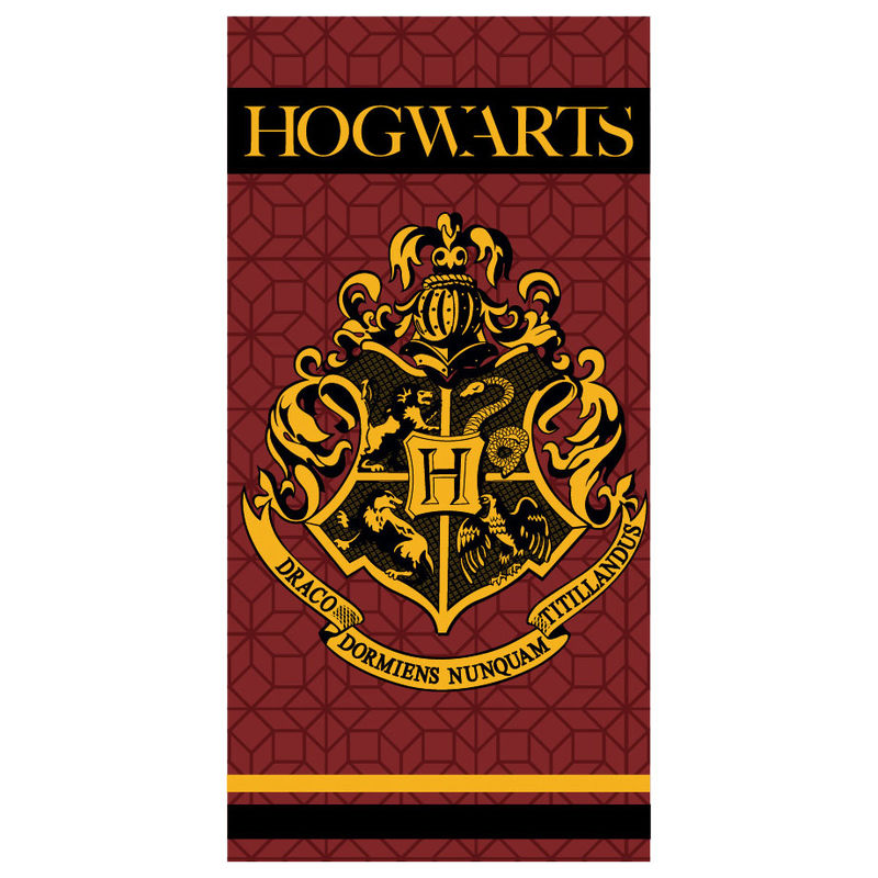 Photo du produit SERVIETTE DE BAIN HOGWARTS HARRY POTTER MICROFIBRE