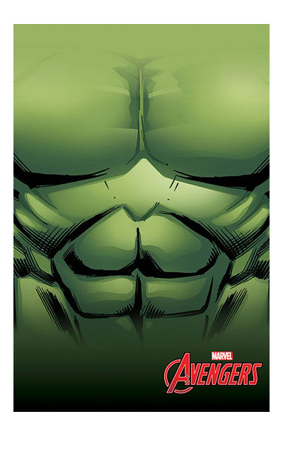 Photo du produit MARVEL PLAID POLAIRE HULK