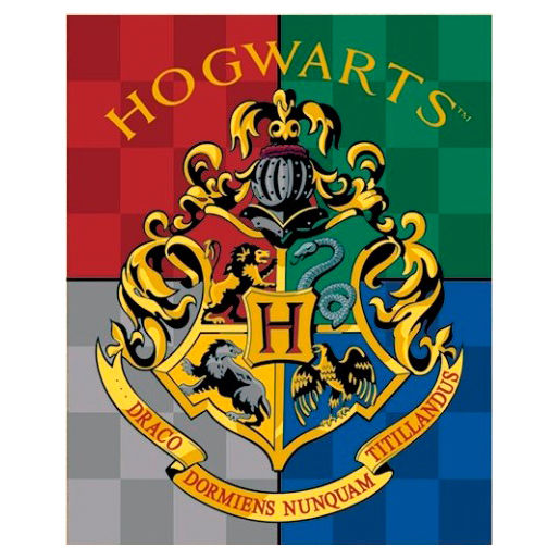Photo du produit PLAID HOGWARTS HARRY POTTER