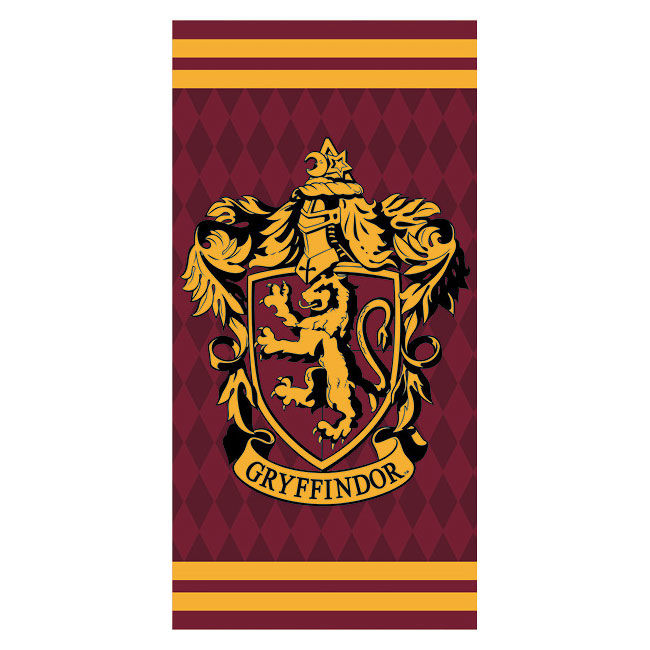 Photo du produit SERVIETTE DE BAIN GRYFFONDOR HARRY POTTER 100% COTON