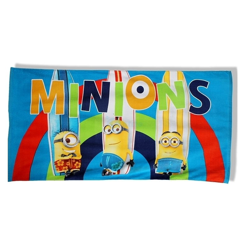 Photo du produit SERVIETTE DE BAIN MINIONS SURF