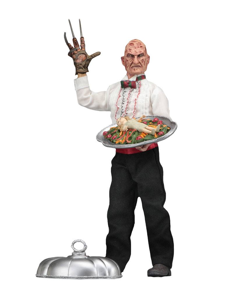Photo du produit NIGHTMARE ON ELM STREET 5 FIGURINE RETRO CHEF FREDDY 20 CM