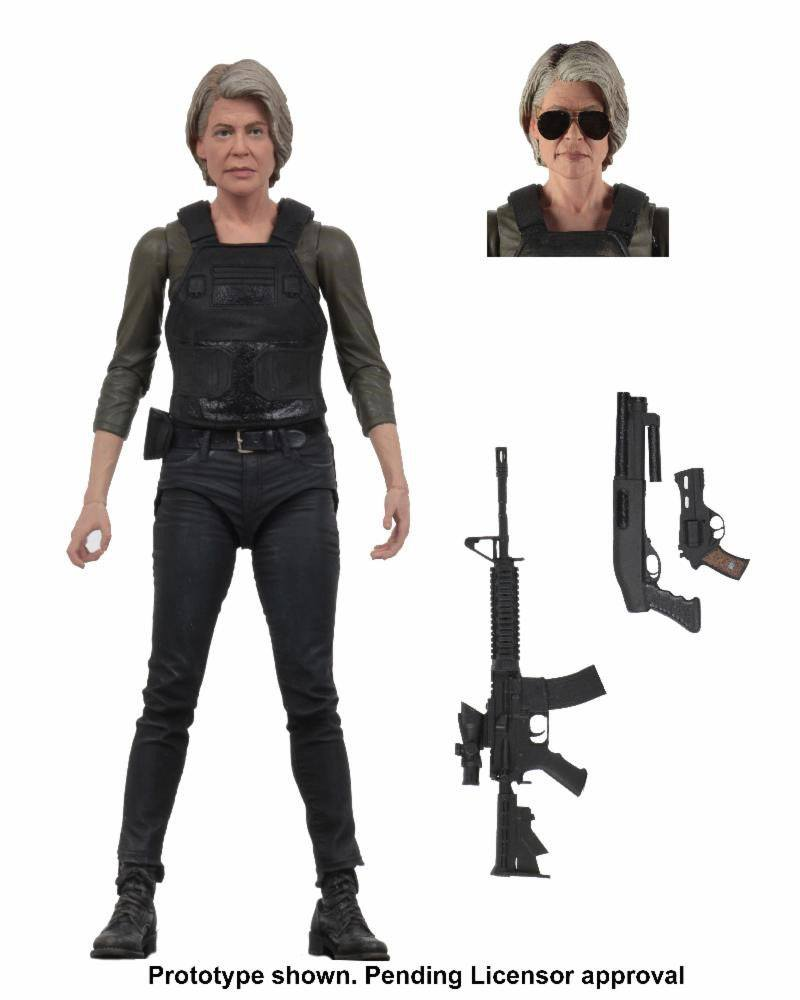 Photo du produit TERMINATOR : DARK FATE FIGURINE SARAH CONNOR 18 CM