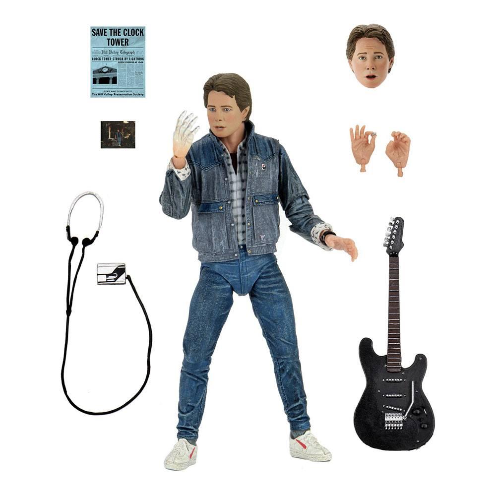 Photo du produit Retour vers le futur figurine Ultimate Marty McFly (Audition) 18 cm