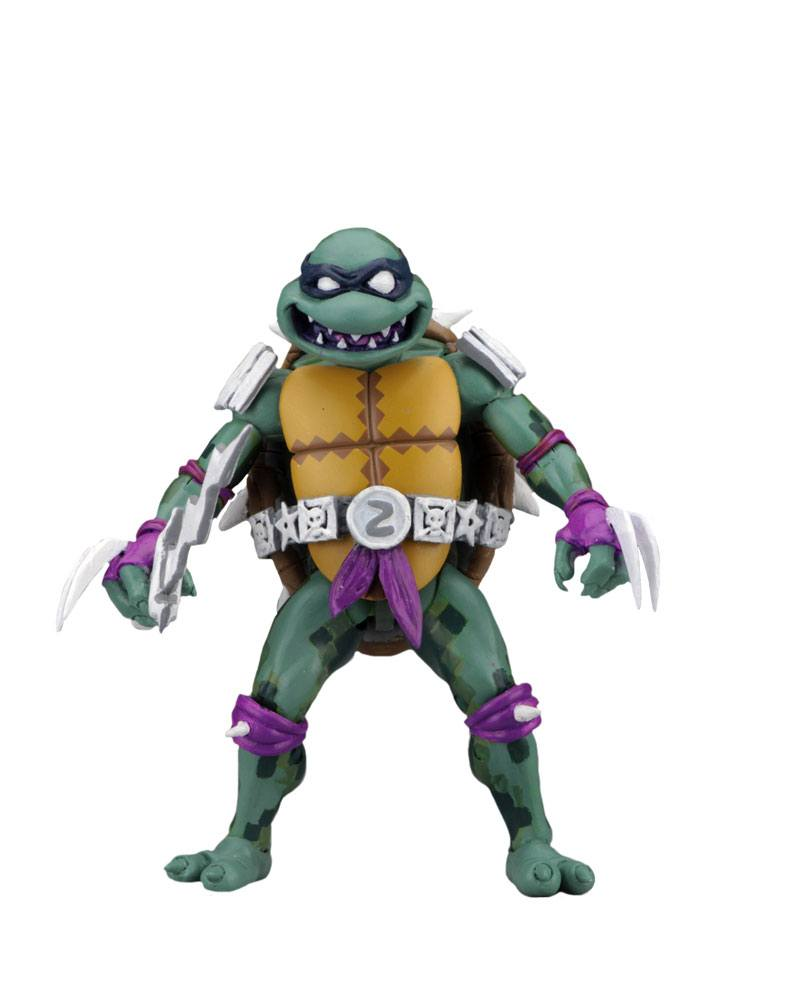 Photo du produit LES TORTUES NINJA: TURTLES IN TIME SÉRIE 1 FIGURINE SLASH 18 CM