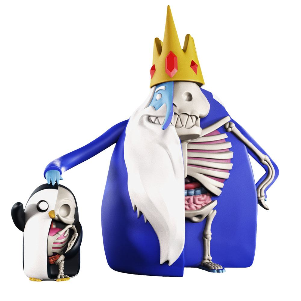 Photo du produit PACK 2 FIGURINES XXRAY ADVENTURE TIME ICE KING & GUNTER 11-21 CM