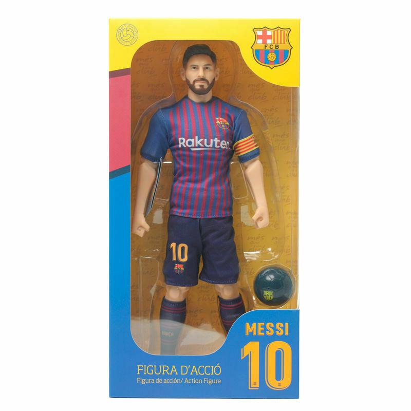 Photo du produit FIGURINE MESSI FC BARCELONE 30CM