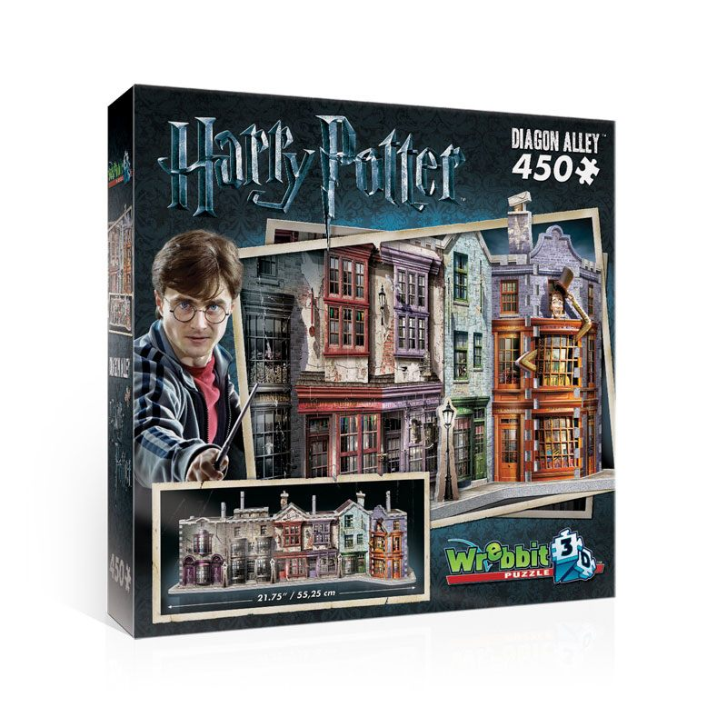 Photo du produit HARRY POTTER PUZZLE 3D THE BURROW (WEASLEY FAMILY HOME)