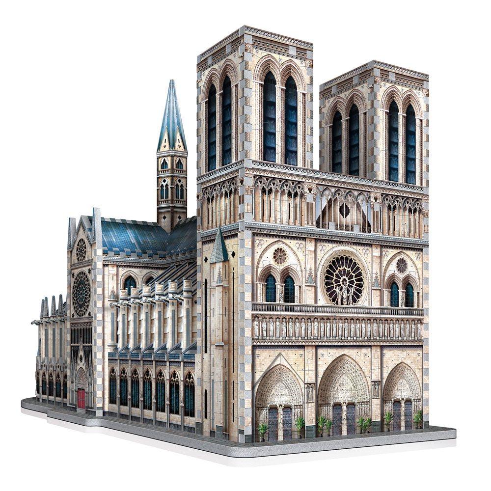 Photo du produit WREBBIT CASTLES & CATHEDRALS COLLECTION PUZZLE 3D NOTRE-DAME DE PARIS (830 PIÈCES)