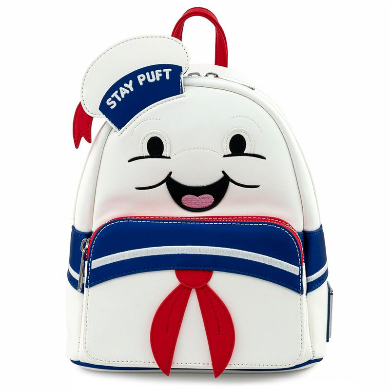 Photo du produit SAC À DOS STAY PUFT MARSHMALLOW GHOSTBUSTERS LOUNGEFLY 26CM