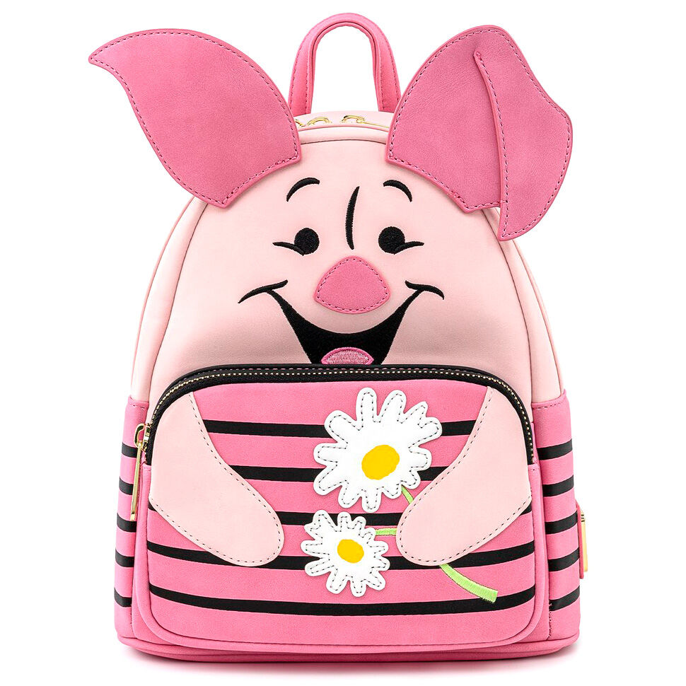 Photo du produit SAC À DOS PIGLET WINNIE THE POOH DISNEY LOUNGEFLY 26CM