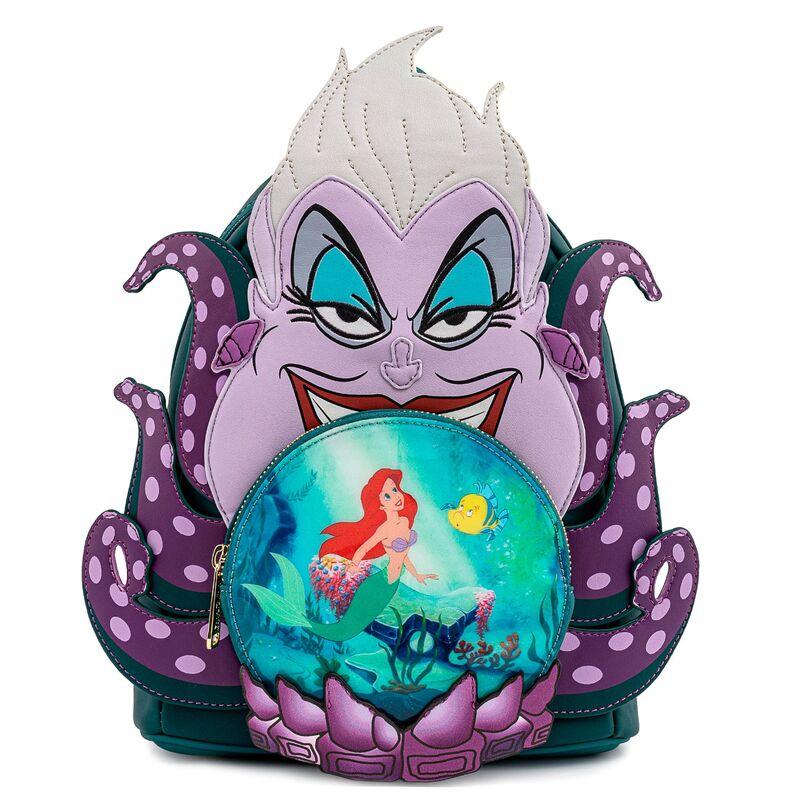 Photo du produit Sac à dos Ursula La petite sirène Disney Loungefly 26cm