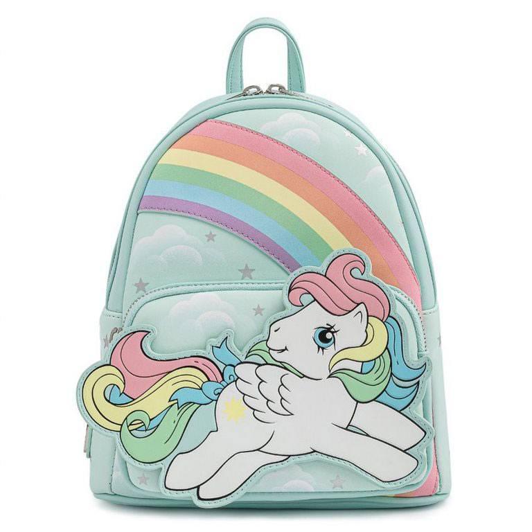 Photo du produit Sac à dos Starshine Rainbow Mi Pequeño Pony Loungefly 25cm