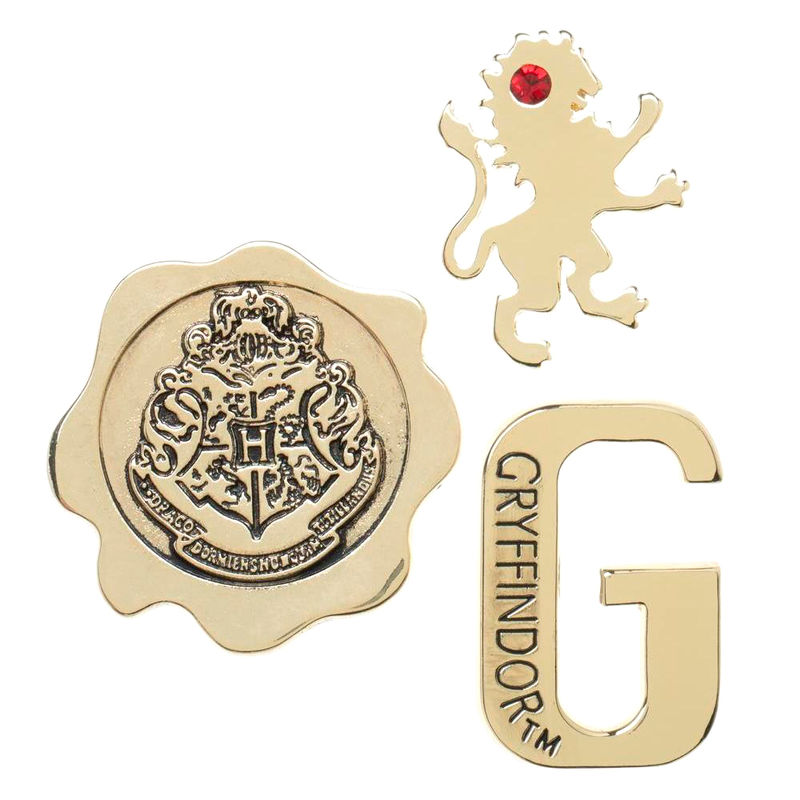 Photo du produit HARRY POTTER PACK 3 PIN'S GRYFFINDOR
