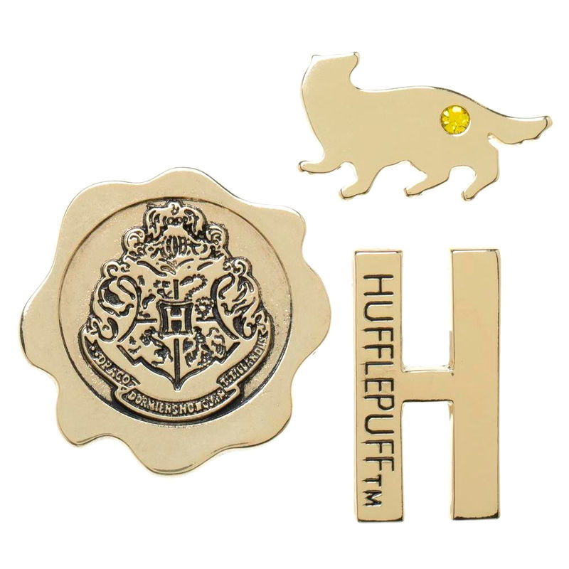Photo du produit HARRY POTTER PACK 3 PIN'S HUFFLEPUFF