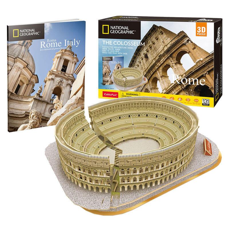 Photo du produit PUZZLE 3D COLOSSEUM NATIONAL GEOGRAPHIC