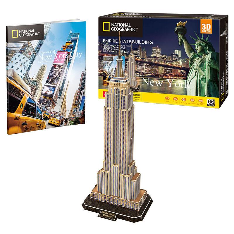 Photo du produit PUZZLE 3D EMPIRE STATE BUILDING NATIONAL GEOGRAPHIC