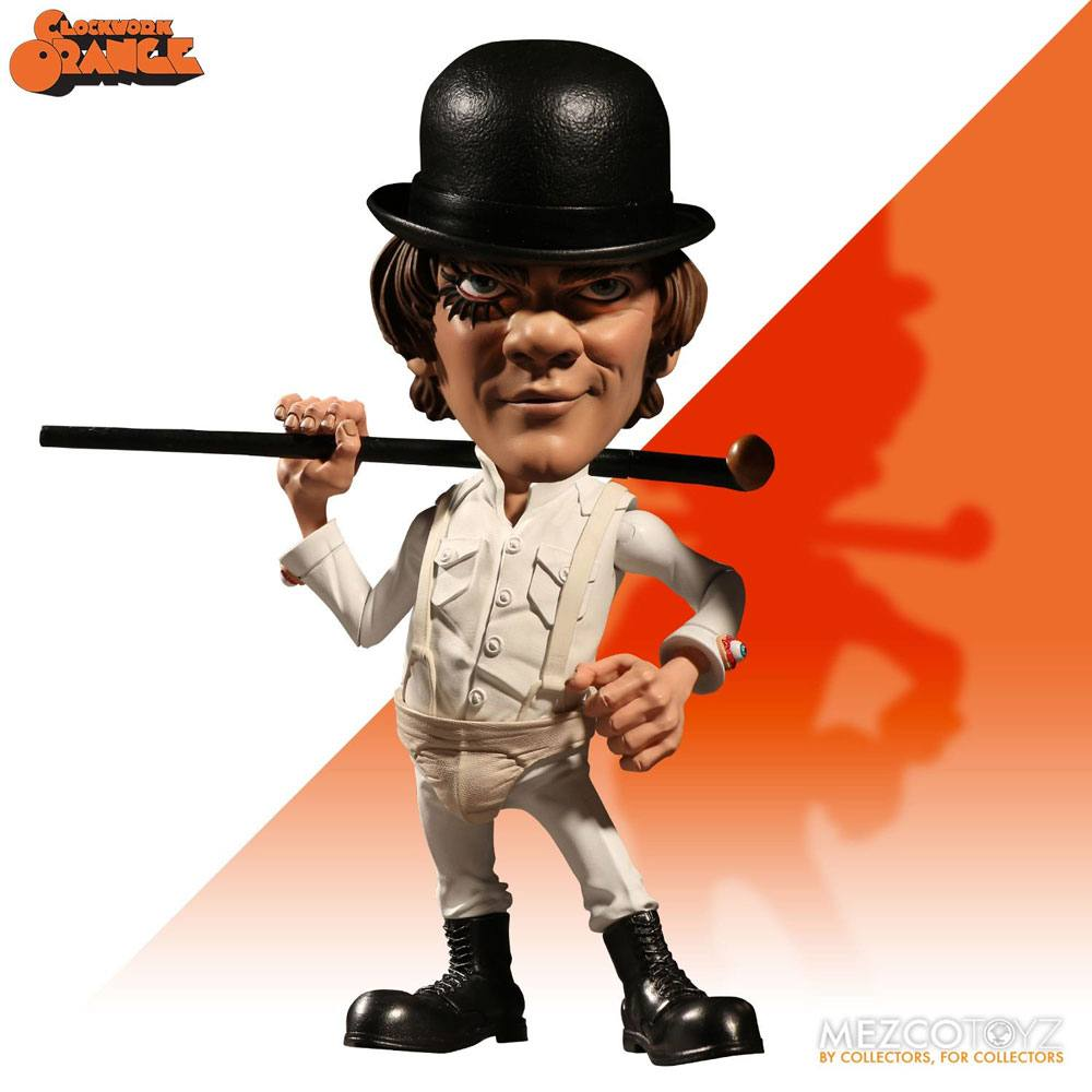 Photo du produit ORANGE MÉCANIQUE FIGURINE STYLIZED ROTO ALEX DELARGE 15 CM