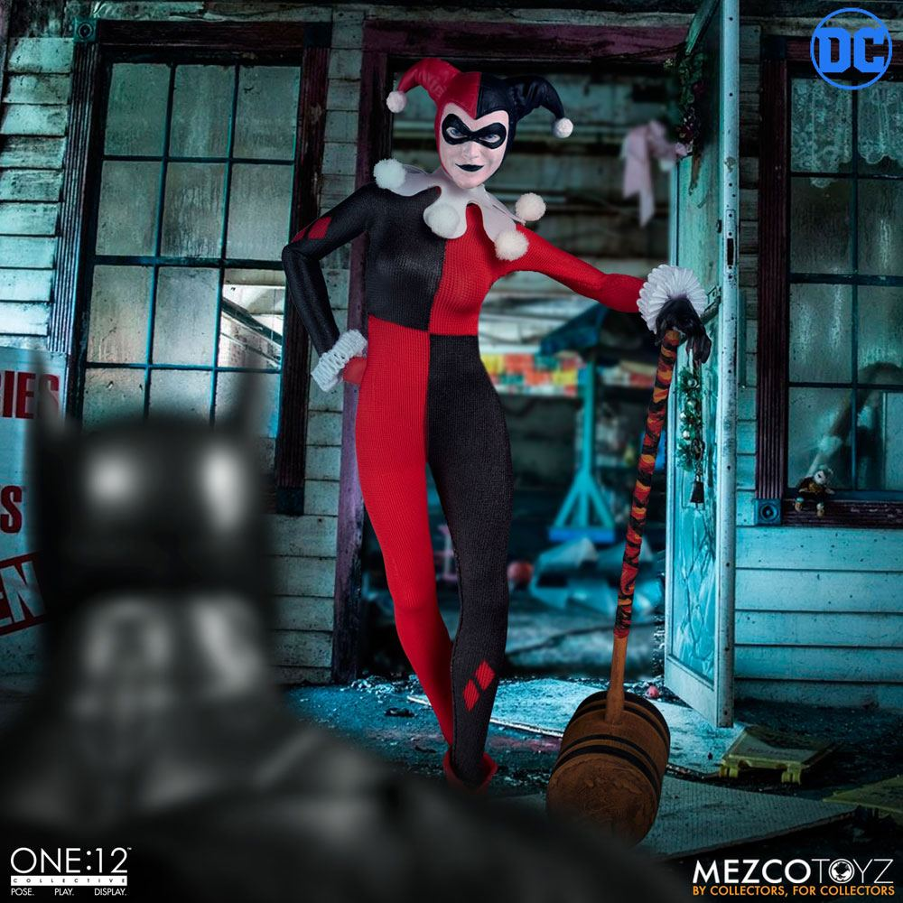 Photo du produit DC COMICS FIGURINE 1/12 HARLEY QUINN DELUXE EDITION 16 CM