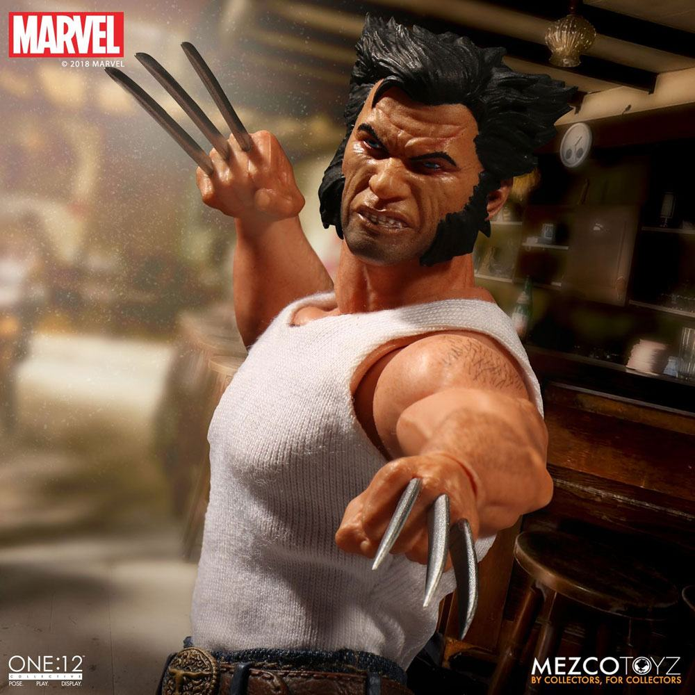 Photo du produit MARVEL UNIVERSE FIGURINE 1/12 LOGAN 16 CM