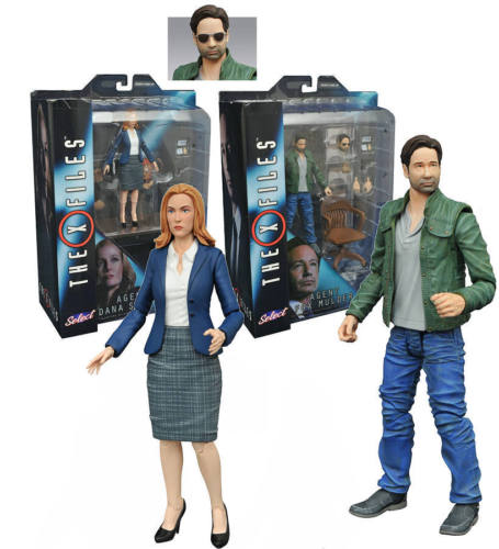 Photo du produit FIGURINES X-FILES MULDER ET SCULLY 18 CM - DIAMOND SELECT
