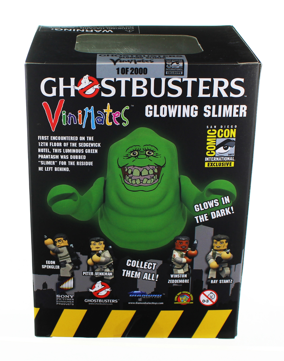 Photo du produit SOS FANTOMES FIGURINE VINIMATES GLOW-IN THE-DARK SLIMER SDCC 2017 EXCLUSIVE