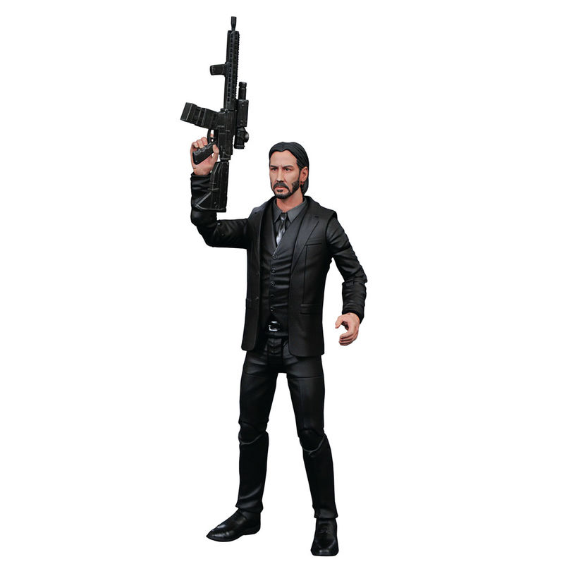 Photo du produit FIGURINE DIAMOND SELECT JOHN WICK SELECT CHAPTER 2 18CM