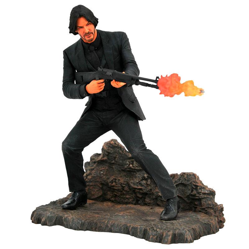 Photo du produit Statuette diorama John Wick 23cm