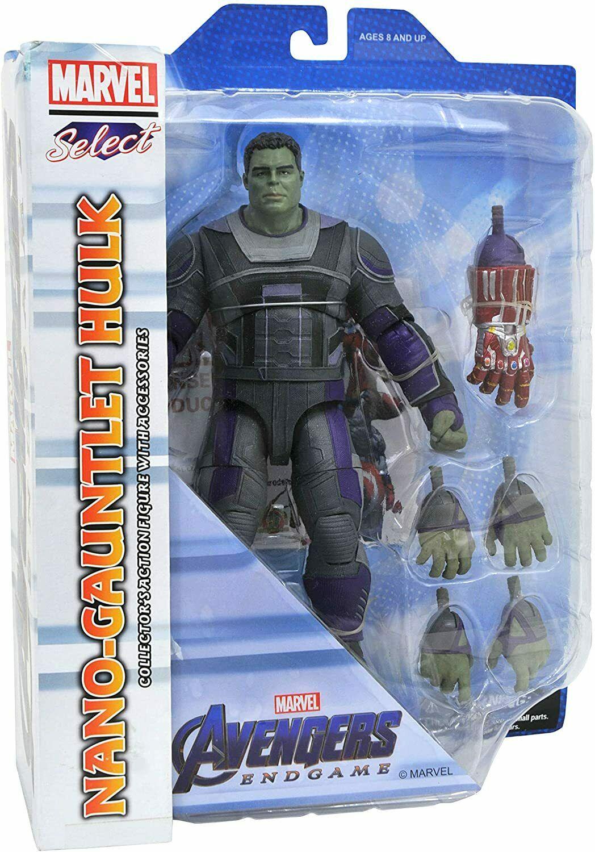 Photo du produit Avengers Endgame Marvel Select figurine Hulk Hero Suit 23 cm
