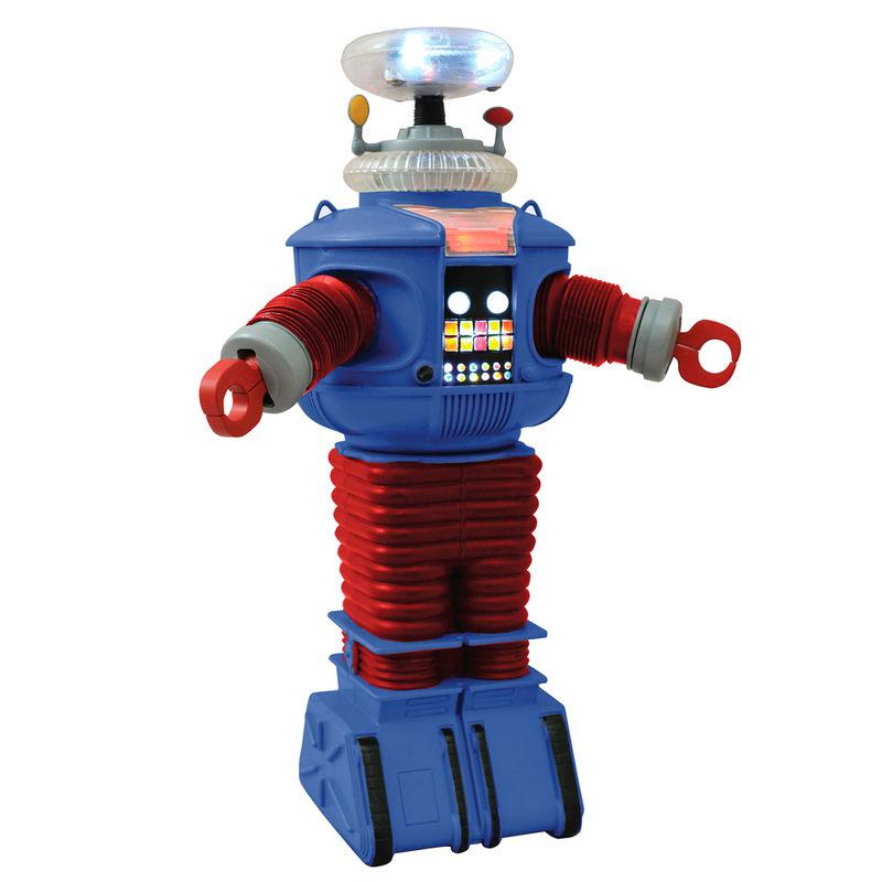 Photo du produit LOST IN SPACE ROBOT ÉLECTRONIQUE B9 RETRO 25 CM