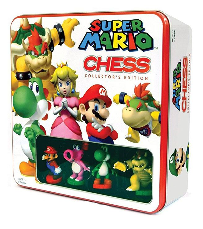 Photo du produit SUPER MARIO JEU D´ÉCHECS TIN BOX