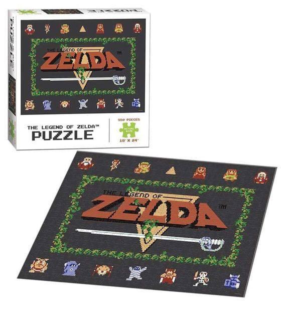 Photo du produit PUZZLE LEGEND OF ZELDA CLASSIC 550 PIECES