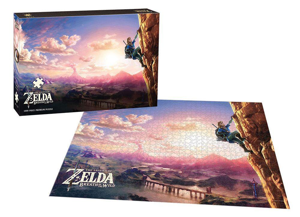 Photo du produit LEGEND OF ZELDA BREATH OF THE WILD PUZZLE SCALING HYRULE