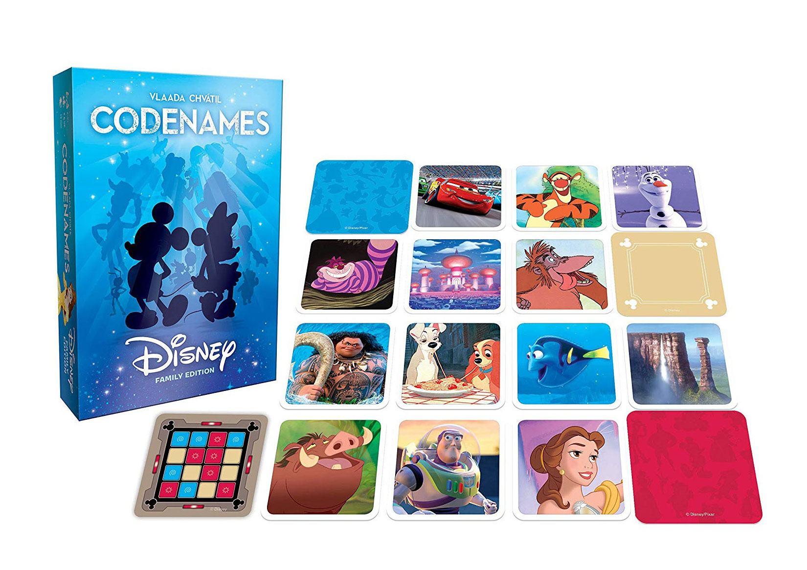 Photo du produit CODENAMES JEU DE PLATEAU DISNEY FAMILY EDITION (VERSION ANGLAISE)