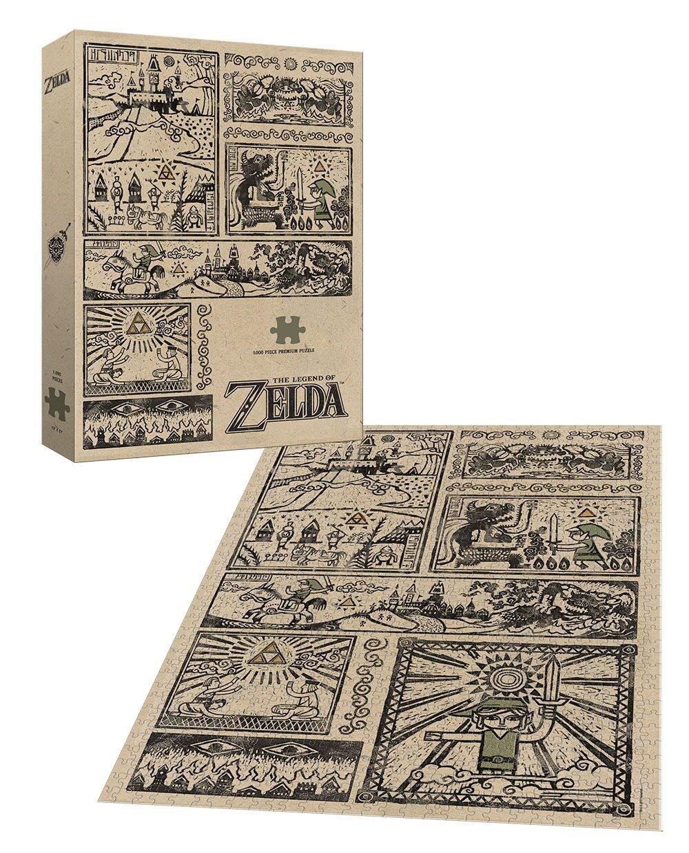 Photo du produit LEGEND OF ZELDA PUZZLE LEGEND OF THE HERO (1000 PIECES)