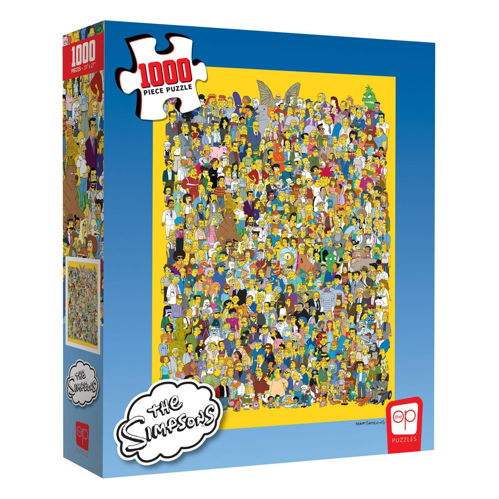 Photo du produit SIMPSONS PUZZLE CAST OF THOUSANDS (1000 PIÈCES)