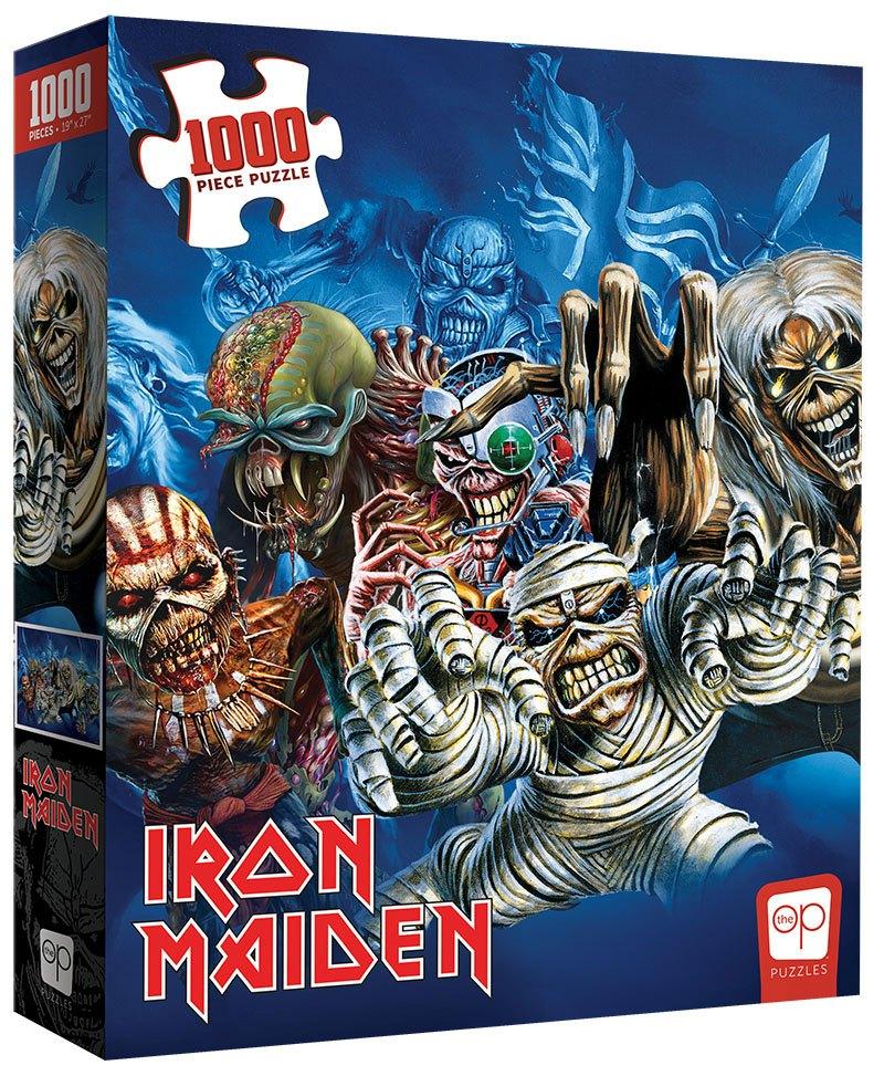 Photo du produit Iron Maiden puzzle The Faces of Eddie (1000 pièces)