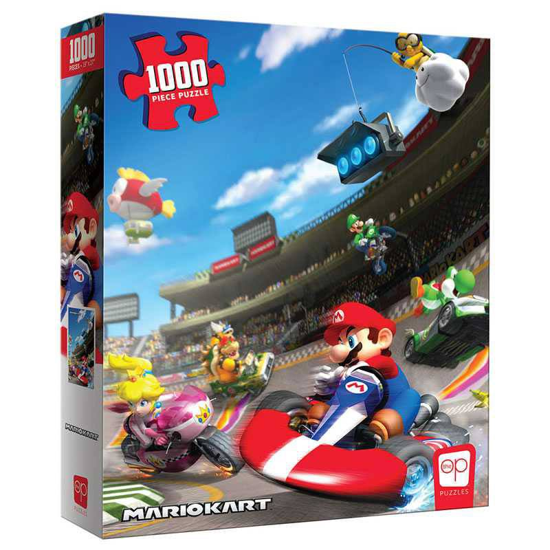 Photo du produit Super Mario puzzle Mario Kart (1000 pièces)