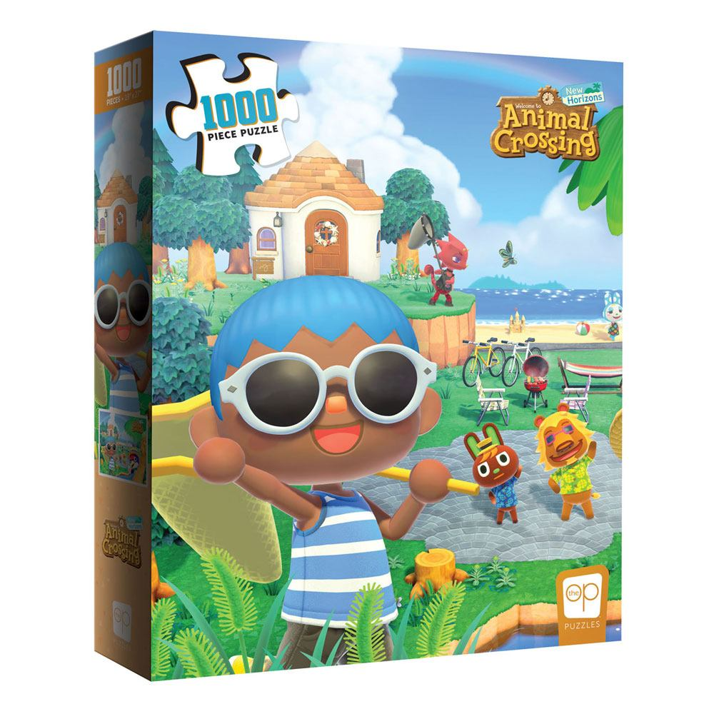 Photo du produit Animal Crossing New Horizons puzzle Summer Fun (1000 pièces)