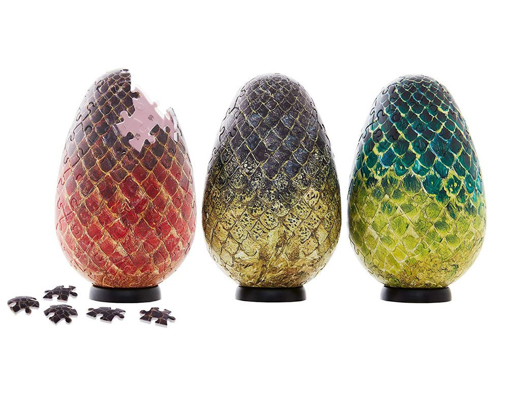 Photo du produit GAME OF THRONES PUZZLE 3D DRAGON EGGS (240 PIÈCES)