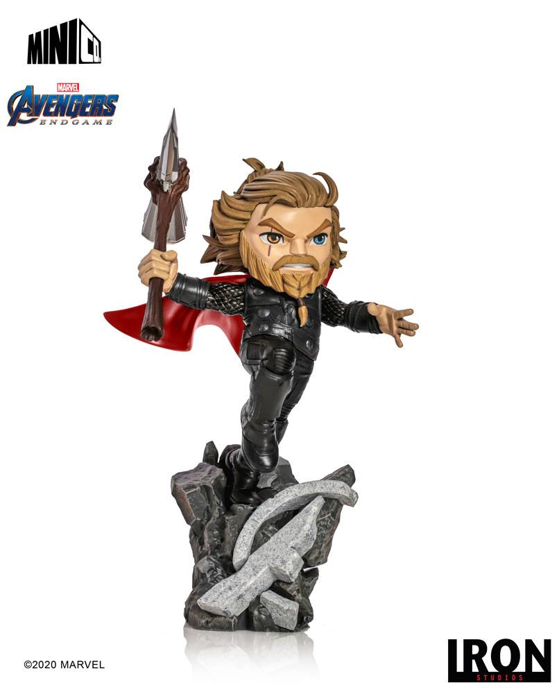 Photo du produit AVENGERS ENDGAME FIGURINE MINI CO. THOR 15 CM