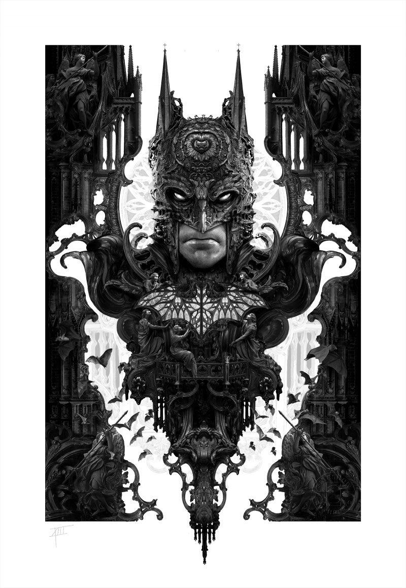 Photo du produit DC COMICS IMPRESSION ART PRINT BATMAN 46 X 61 CM - NON ENCADRÉE