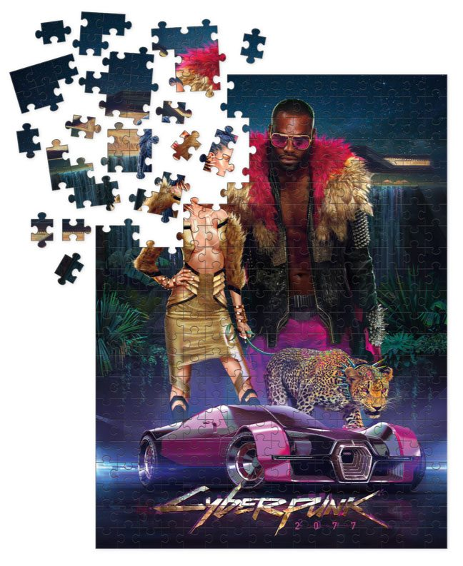 Photo du produit CYBERPUNK 2077 PUZZLE NEOKITSCH